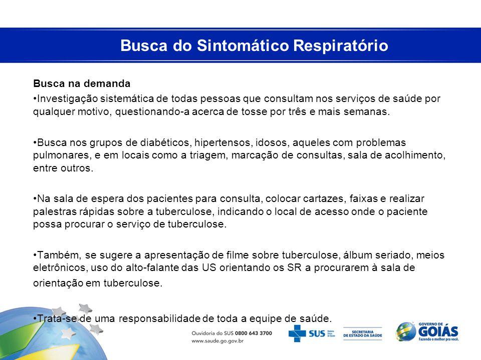 Busca do Sintomático Respiratório