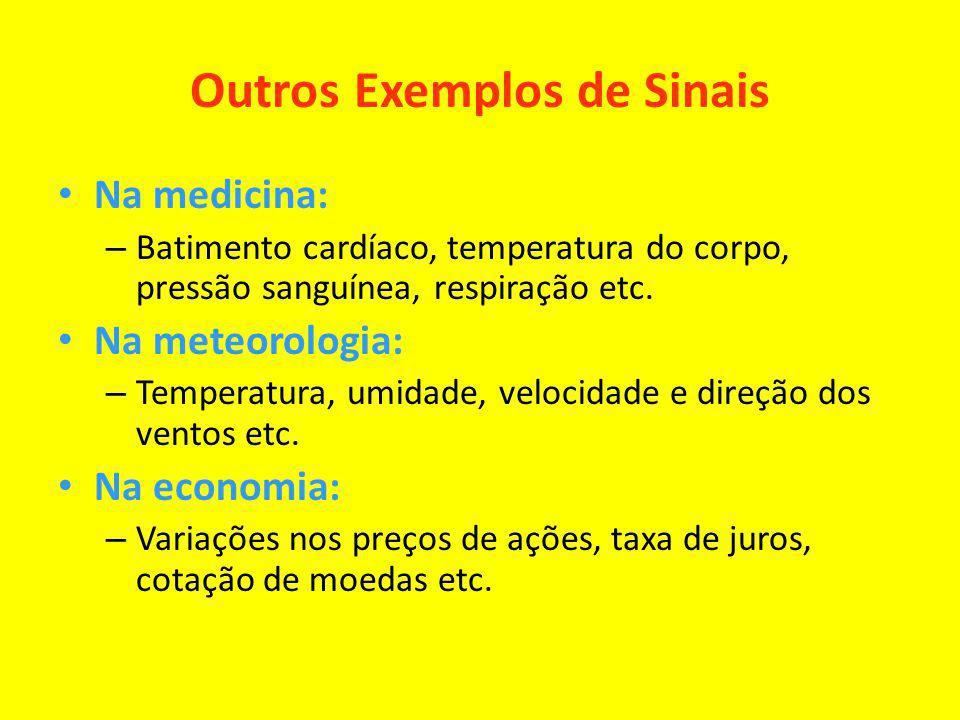 Outros Exemplos de Sinais