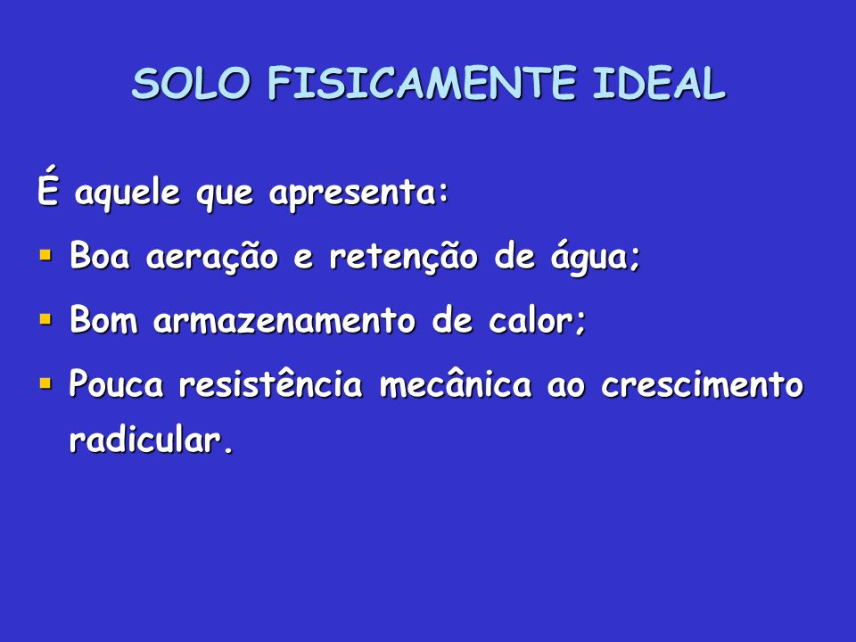 SOLO FISICAMENTE IDEAL