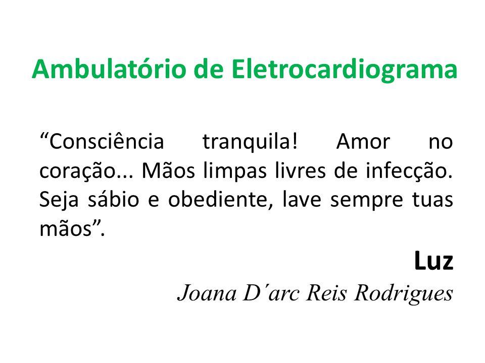Ambulatório de Eletrocardiograma