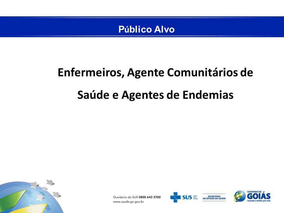 Enfermeiros, Agente Comunitários de Saúde e Agentes de Endemias