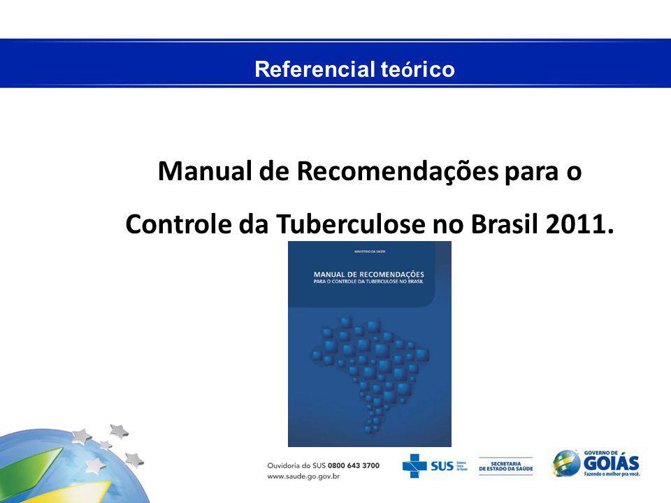 Manual de Recomendações para o Controle da Tuberculose no Brasil 2011.