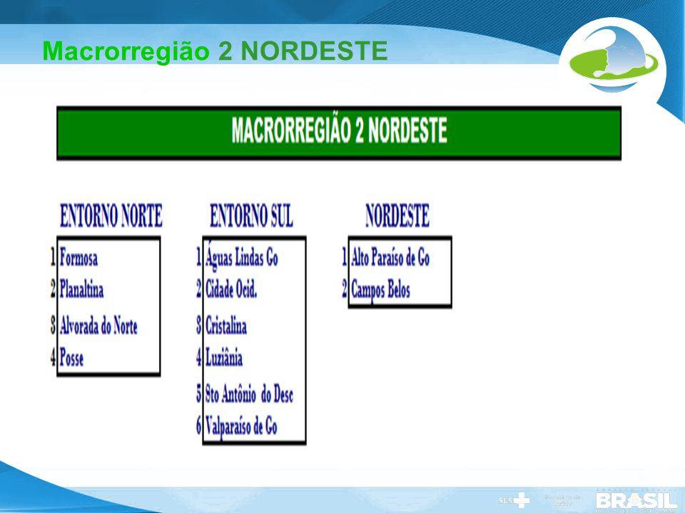 Macrorregião 2 NORDESTE