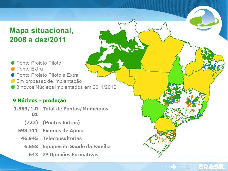 Mapa situacional, 2008 a dez/2011