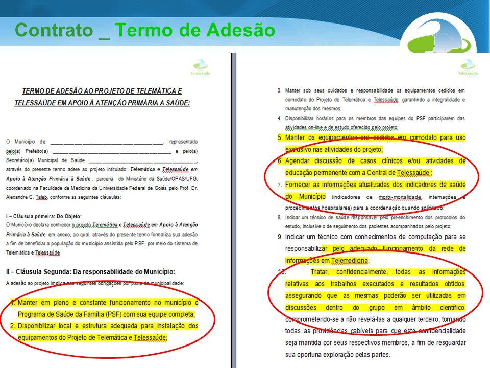 Contrato _ Termo de Adesão