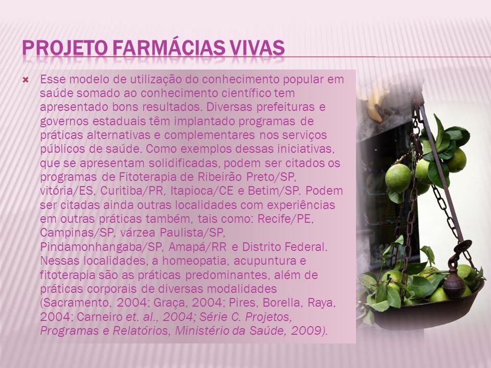 PROJETO Farmácias Vivas