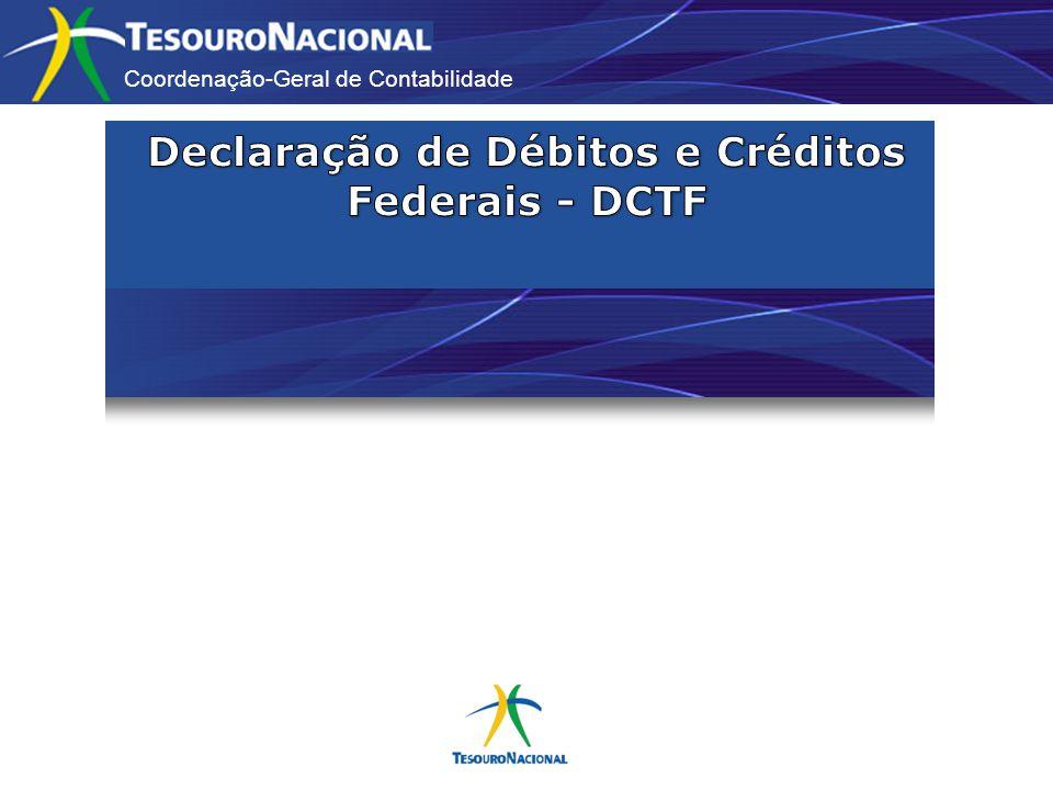 Declaração de Débitos e Créditos Federais - DCTF