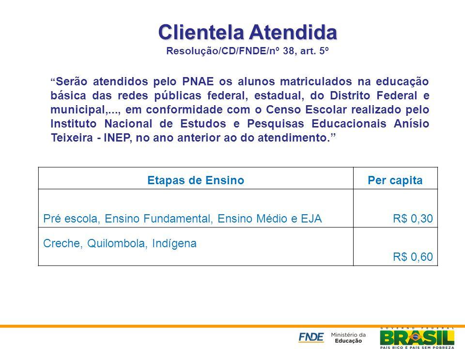 Resolução/CD/FNDE/nº 38, art. 5º