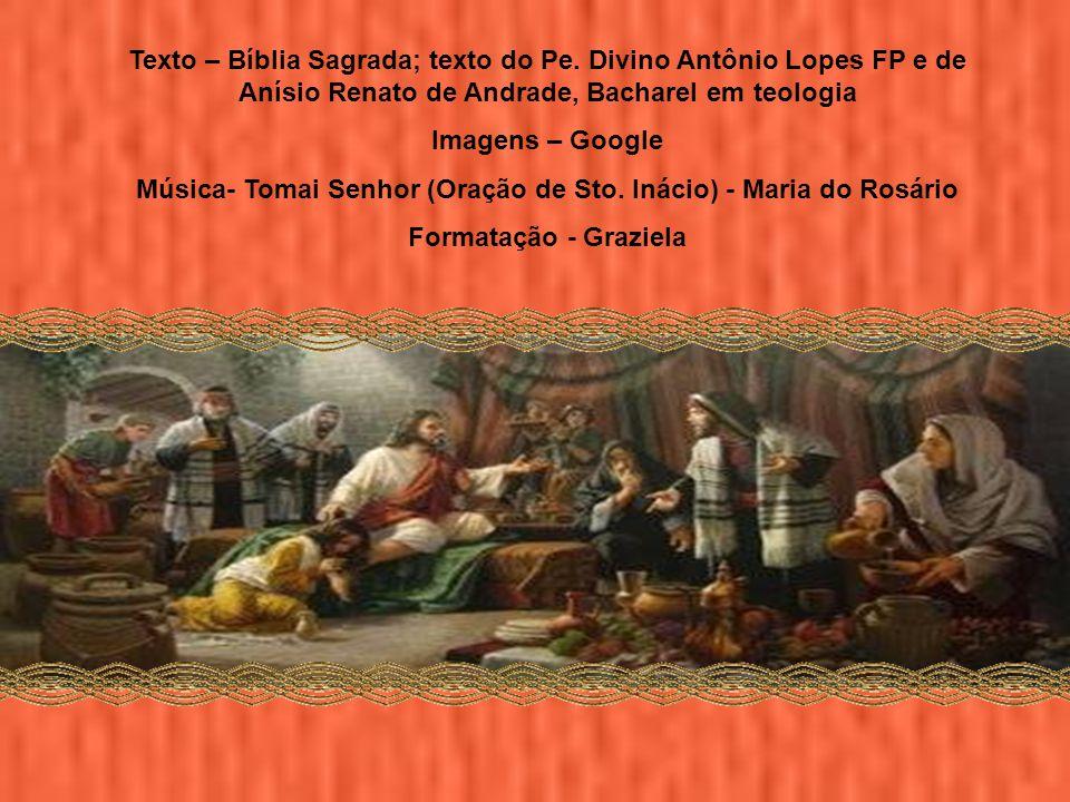 Música- Tomai Senhor (Oração de Sto. Inácio) - Maria do Rosário