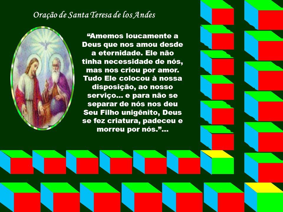 Oração de Santa Teresa de los Andes