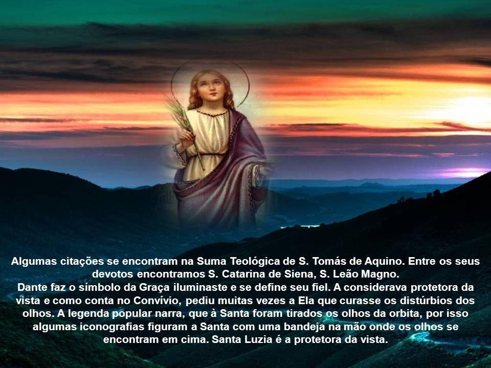 Algumas citações se encontram na Suma Teológica de S. Tomás de Aquino