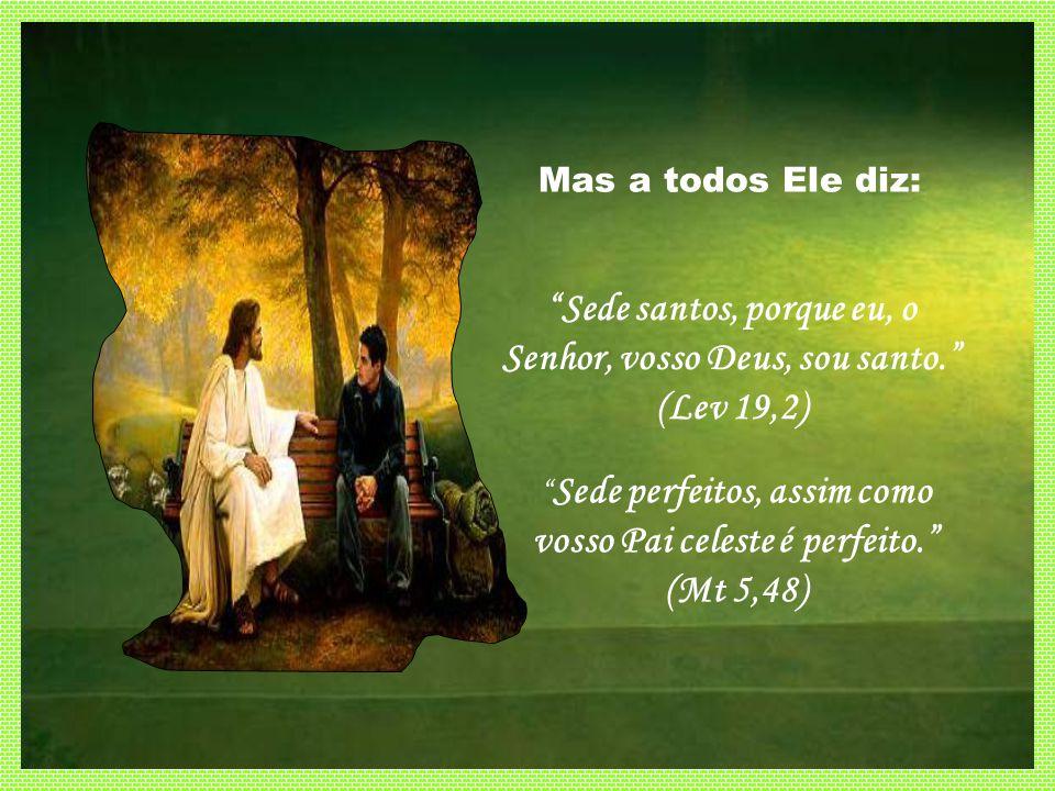 Sede santos, porque eu, o Senhor, vosso Deus, sou santo. (Lev 19,2)