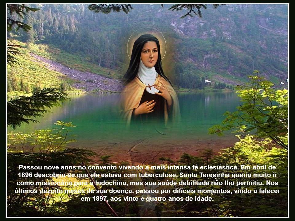 Passou nove anos no convento vivendo a mais intensa fé eclesiástica