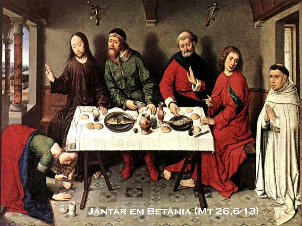 Jantar em Betânia (Mt 26,6-13)