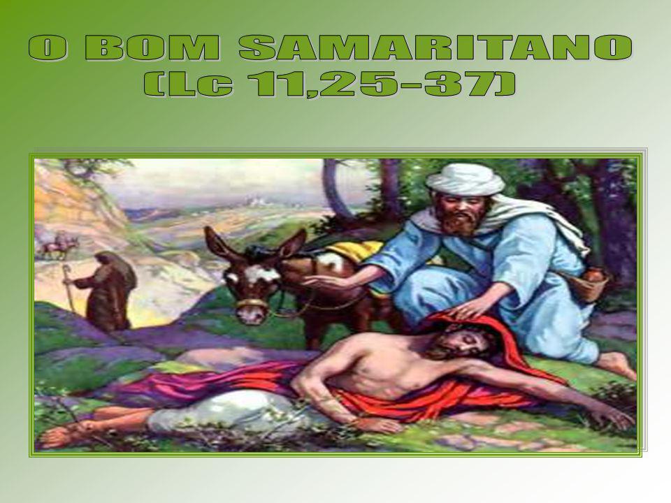O BOM SAMARITANO (Lc 11,25-37)