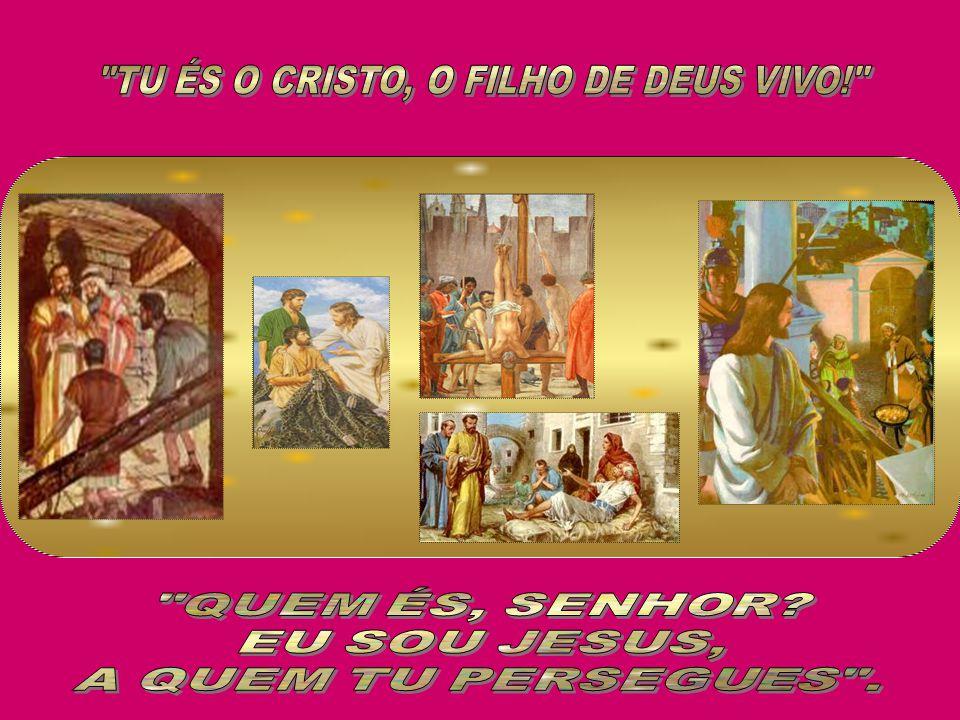 TU ÉS O CRISTO, O FILHO DE DEUS VIVO!