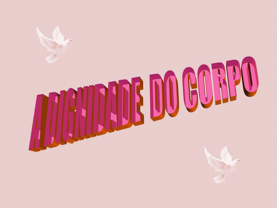 A DIGNIDADE DO CORPO