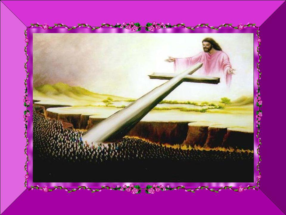 É o sinal da Cruz sobre a nossa testa, os nossos lábios e o nosso coração, o sinal do cristão – Pelo sinal da Santa Cruz, livrai-nos Deus Nosso Senhor dos nossos inimigos.