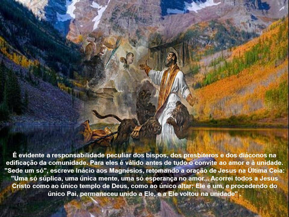 É evidente a responsabilidade peculiar dos bispos, dos presbíteros e dos diáconos na edificação da comunidade.