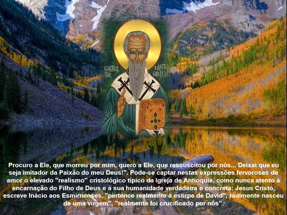 Procuro a Ele, que morreu por mim, quero a Ele, que ressuscitou por nós...