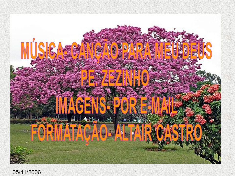 MÚSICA- CANÇÃO PARA MEU DEUS FORMATAÇÃO- ALTAIR CASTRO
