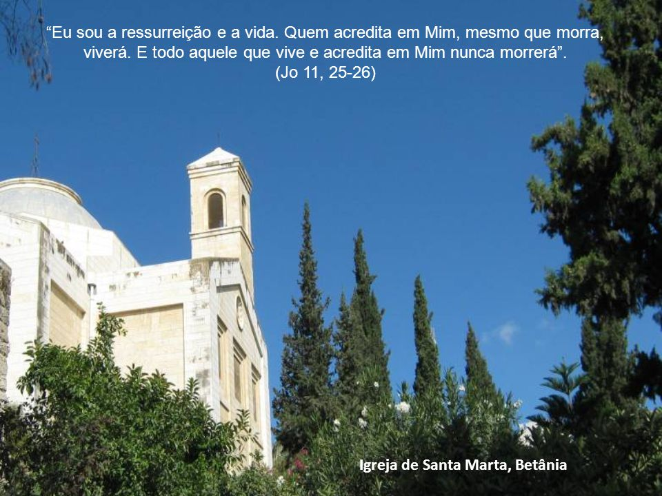 Igreja de Santa Marta, Betânia