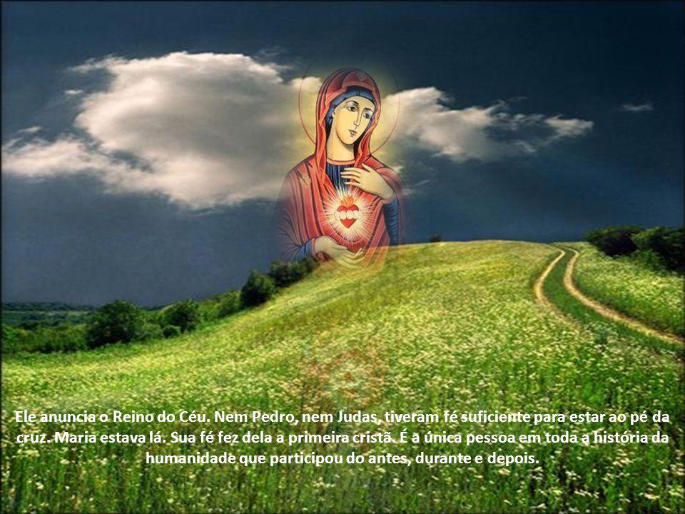 Ele anuncia o Reino do Céu