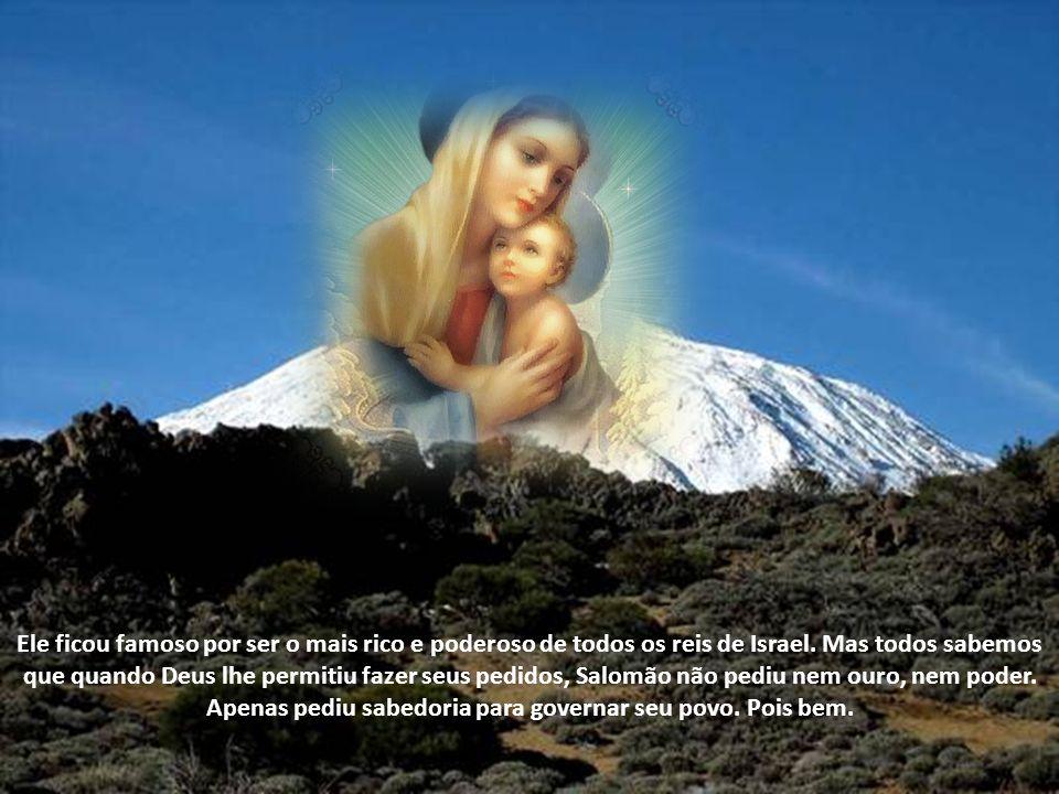 Ele ficou famoso por ser o mais rico e poderoso de todos os reis de Israel.