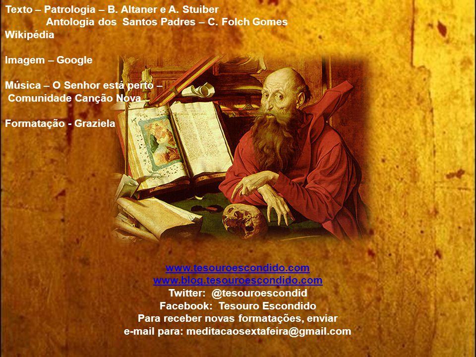 Texto – Patrologia – B. Altaner e A. Stuiber