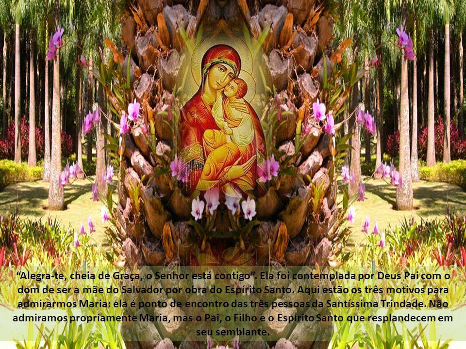 Alegra-te, cheia de Graça, o Senhor está contigo