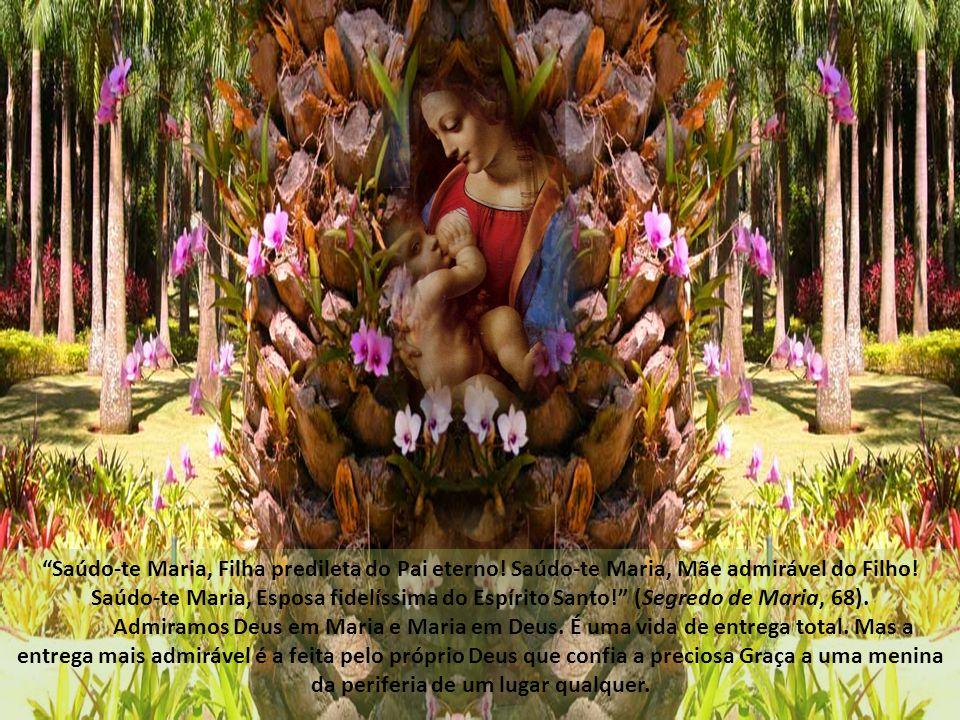 Saúdo-te Maria, Filha predileta do Pai eterno