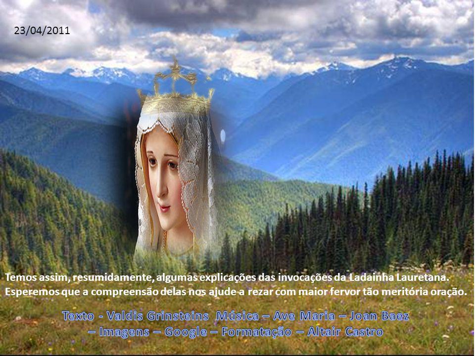 Texto - Valdis Grinsteins Música – Ave Maria – Joan Baez