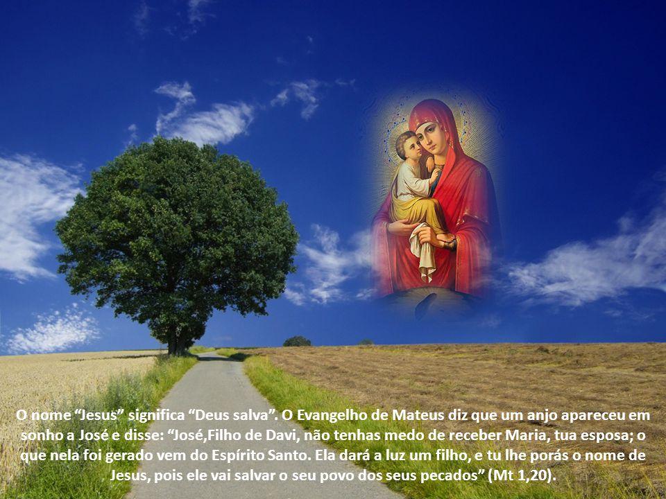 O nome Jesus significa Deus salva