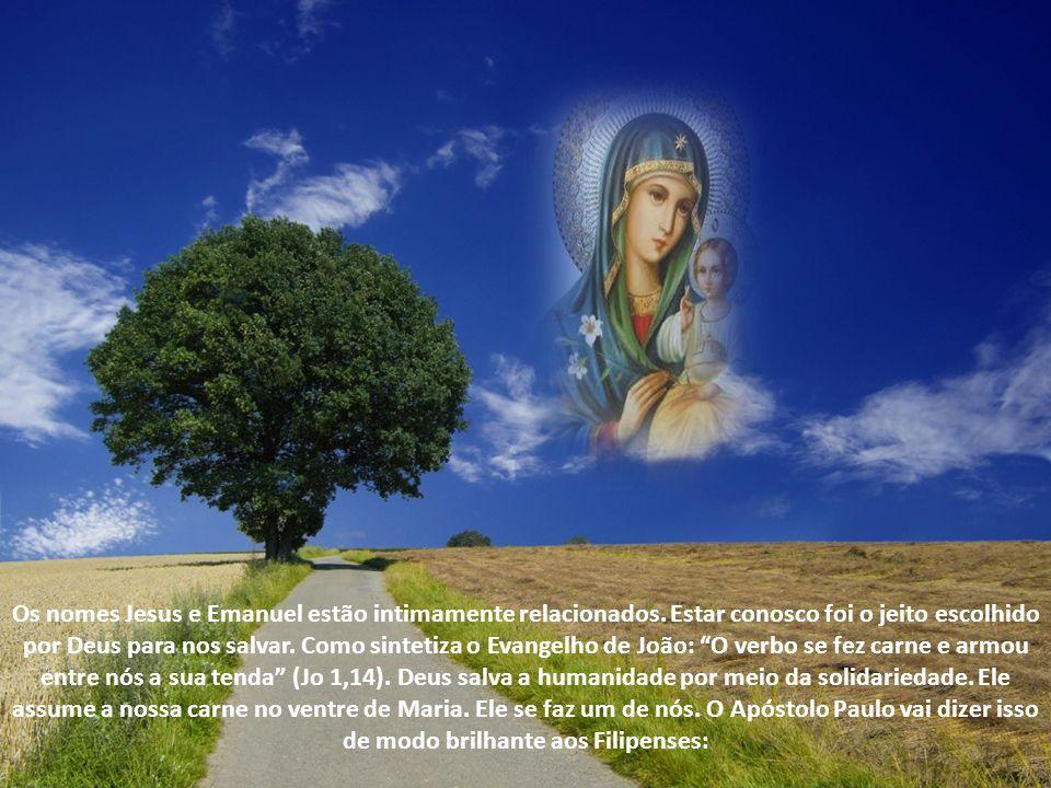 Os nomes Jesus e Emanuel estão intimamente relacionados