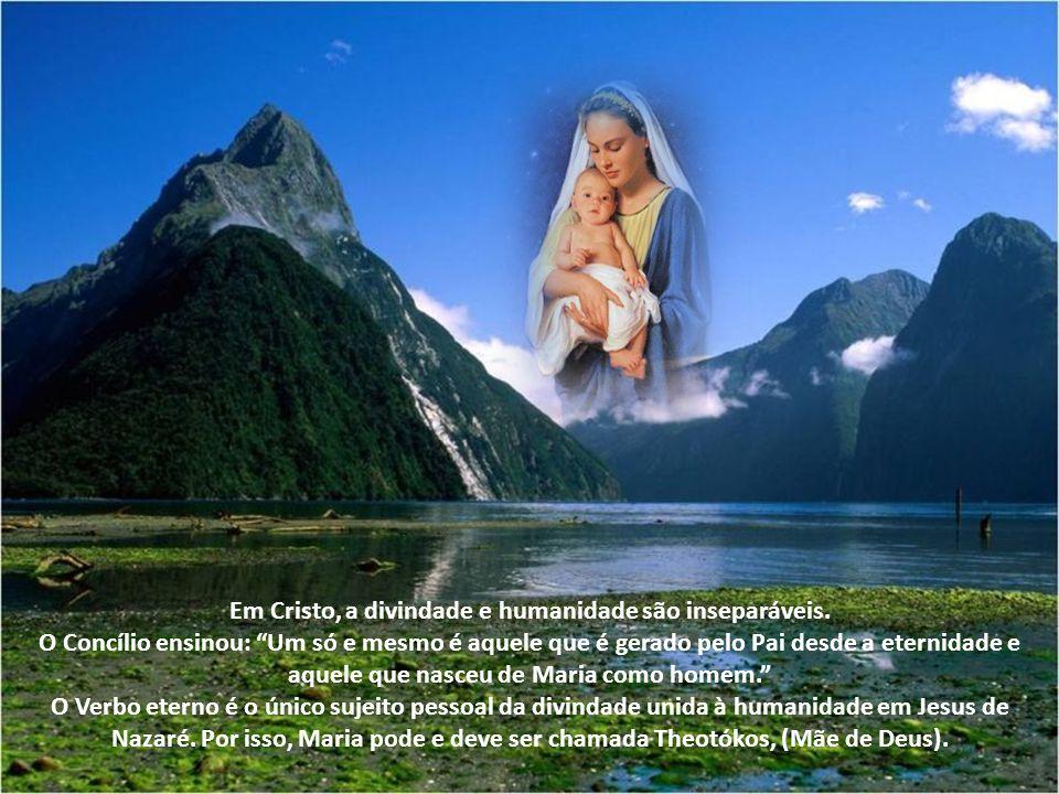Em Cristo, a divindade e humanidade são inseparáveis
