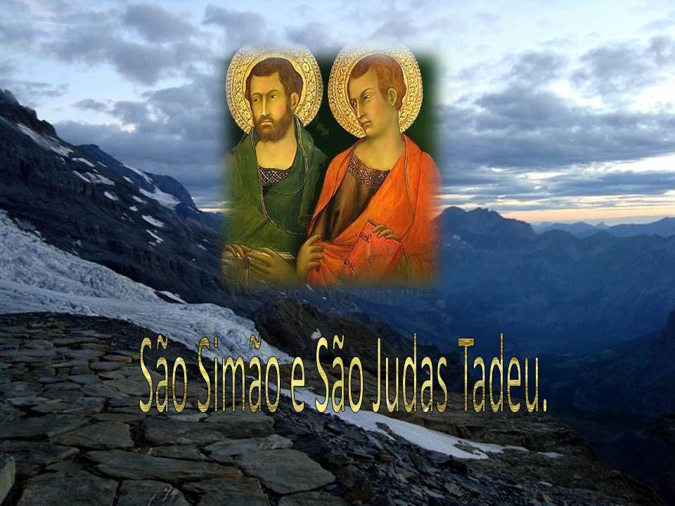 São Simão e São Judas Tadeu.