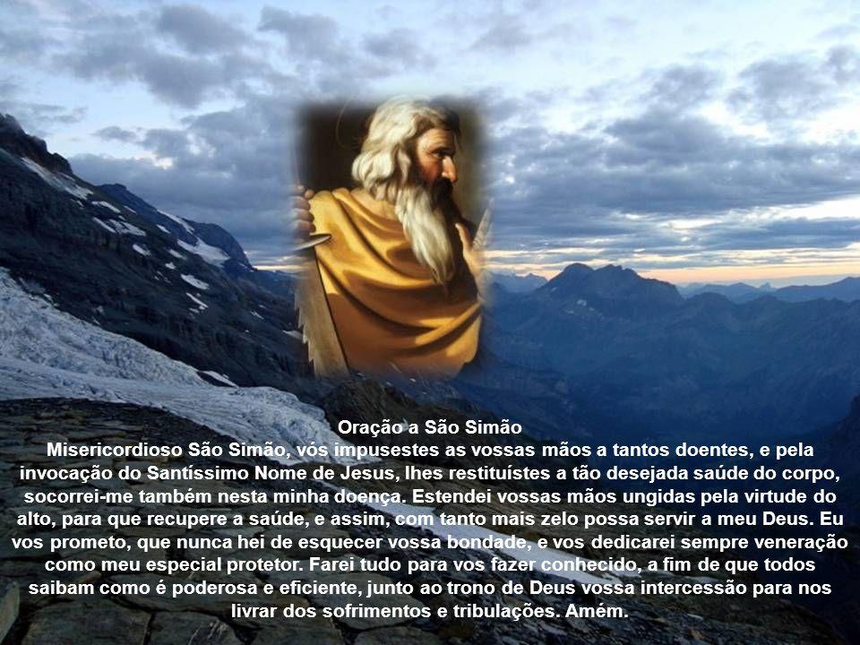 Oração a São Simão