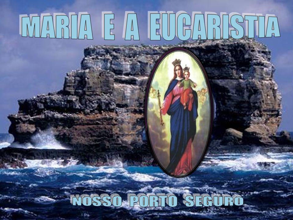 MARIA E A EUCARISTIA NOSSO PORTO SEGURO