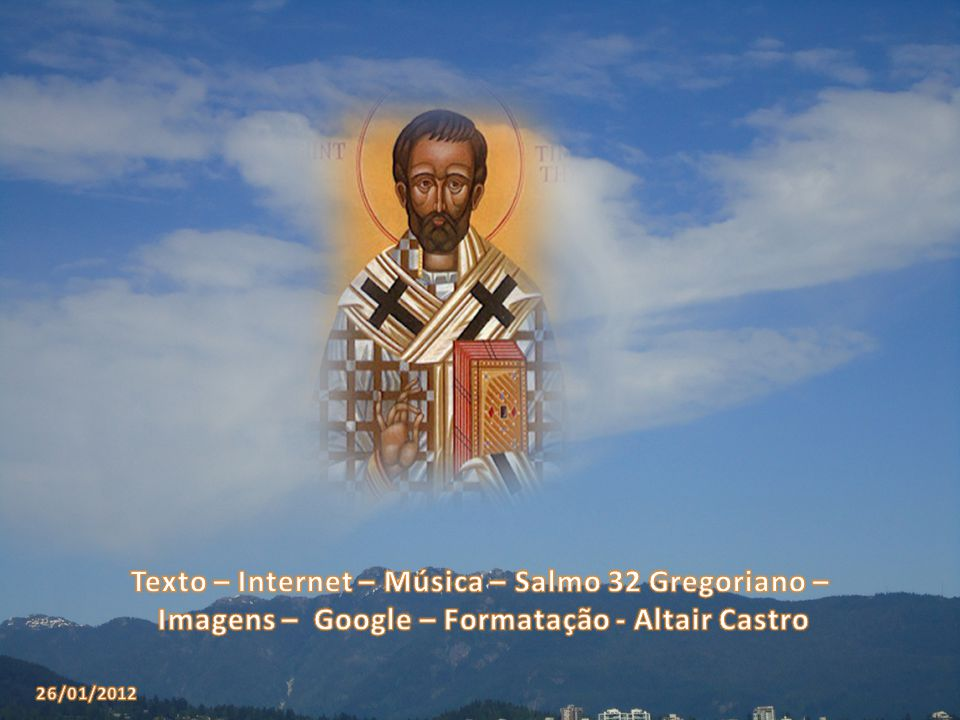 Texto – Internet – Música – Salmo 32 Gregoriano –