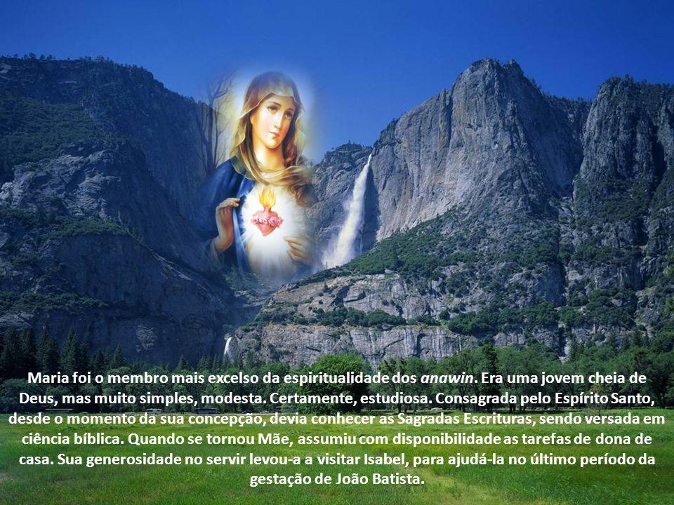 Maria foi o membro mais excelso da espiritualidade dos anawin