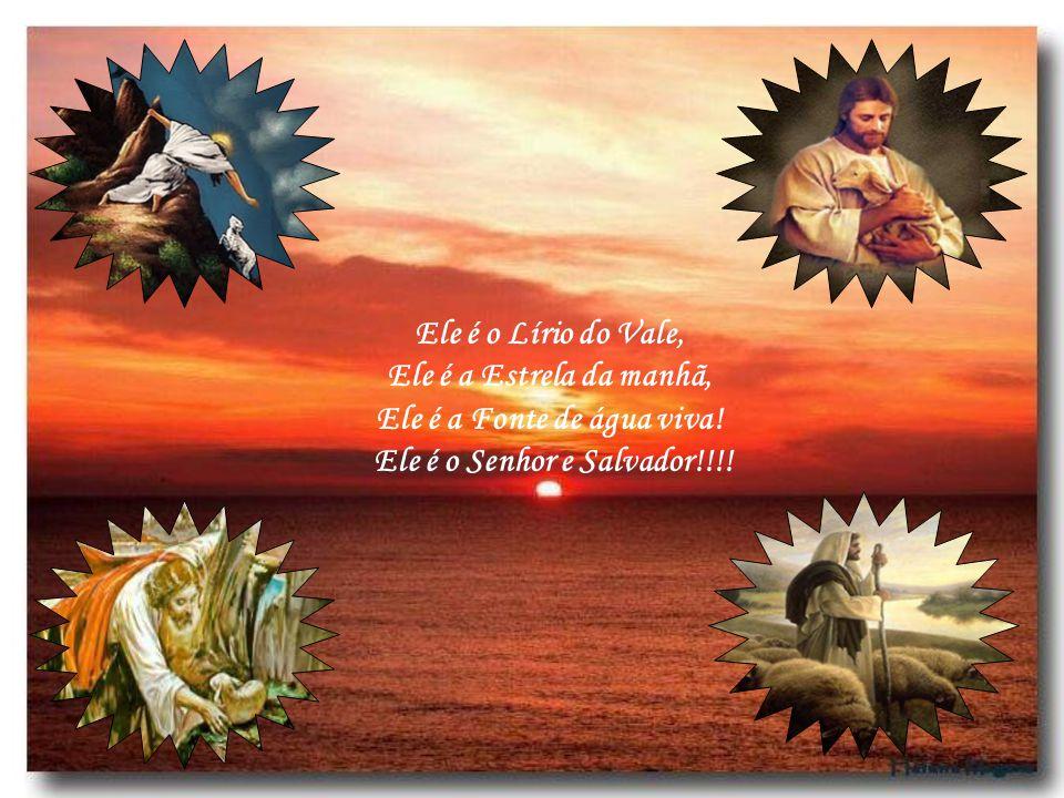 Ele é a Fonte de água viva! Ele é o Senhor e Salvador!!!!