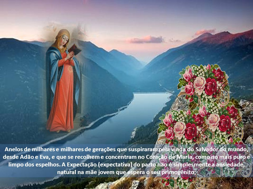 O Mundo Inteiro Espera A Resposta De Maria: Nossa Senhora Do Ó!.