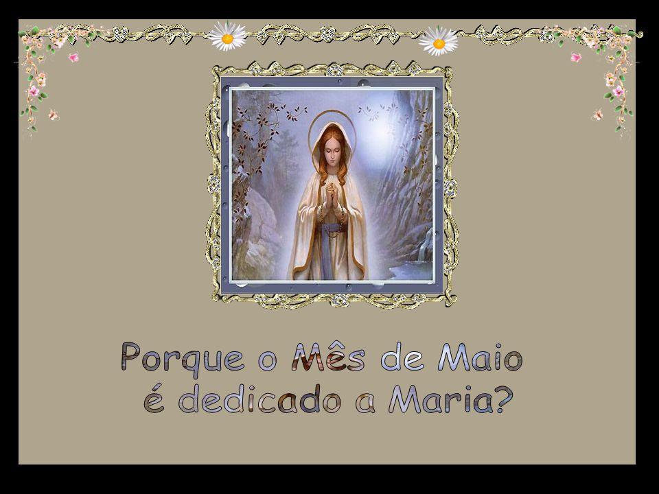 Porque o Mês de Maio é dedicado a Maria
