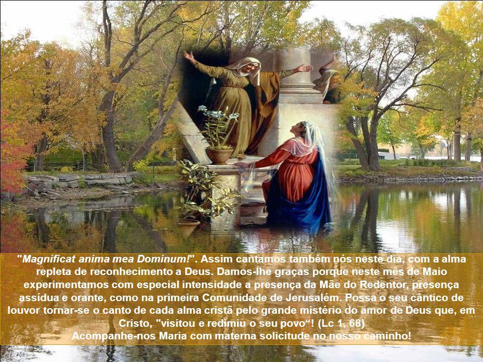 Magnificat anima mea Dominum.