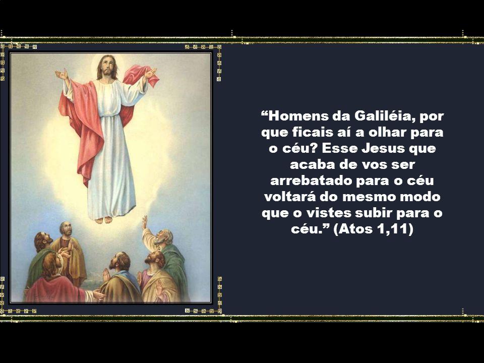 Homens da Galiléia, por que ficais aí a olhar para o céu