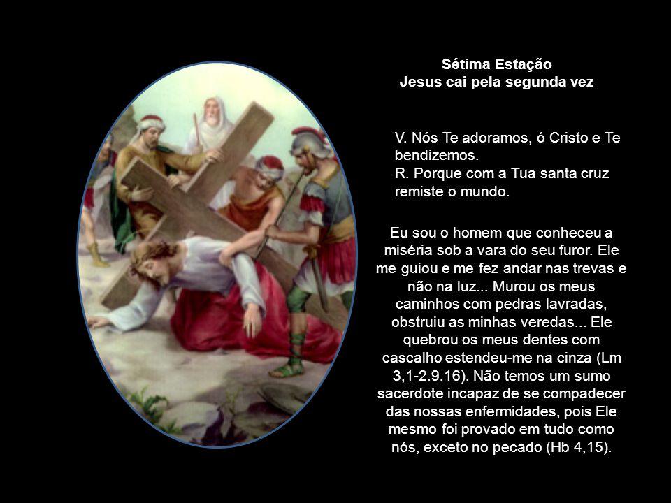 Jesus cai pela segunda vez
