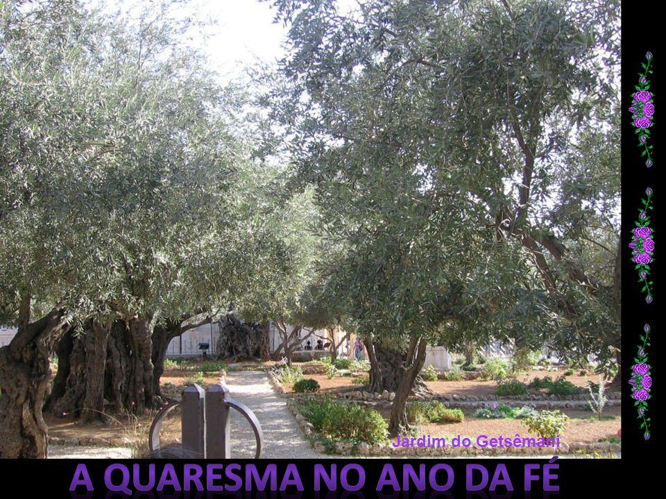 Jardim do Getsêmani A quaresma no Ano da Fé