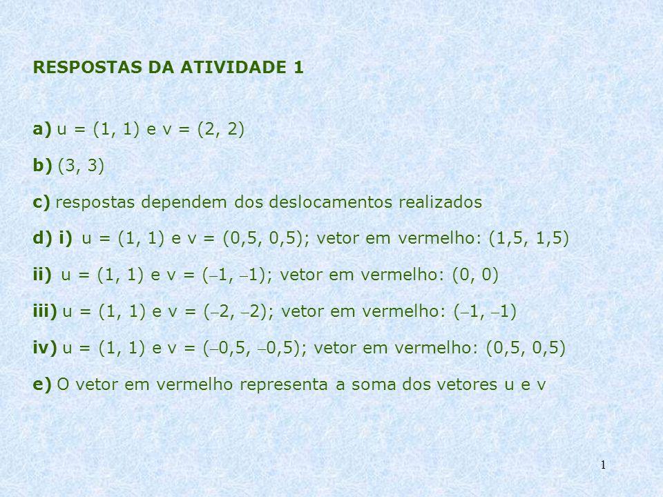 RESPOSTAS DA ATIVIDADE 1