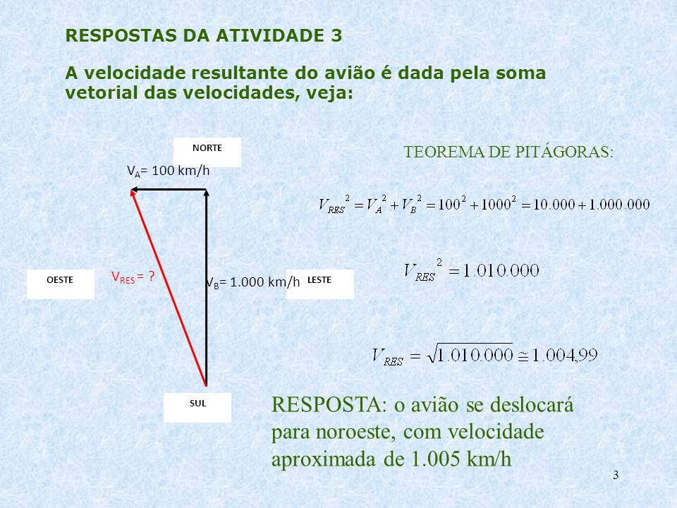 RESPOSTAS DA ATIVIDADE 3