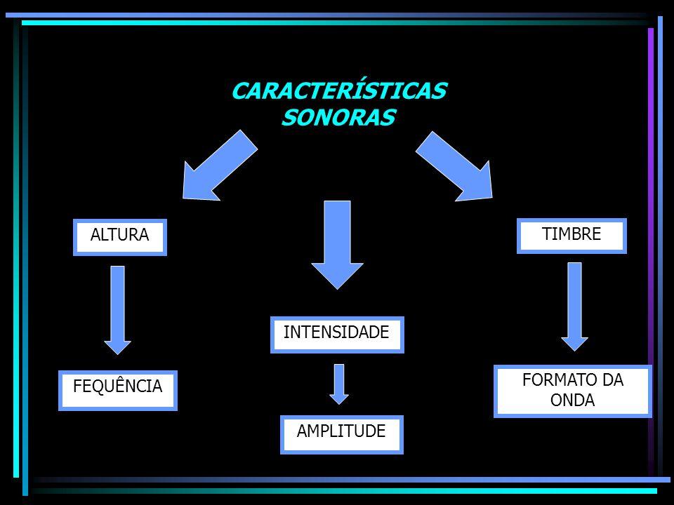 CARACTERÍSTICAS SONORAS